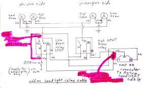 astrosafari headlight relays and high bosch relay wiring
