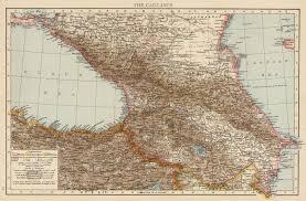 Asia Minor Map Nagorno Karabakh Maps
