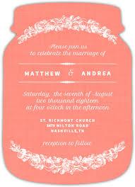 Mason Jar Wedding Programs Religious Wedding Invitations Christian Wedding Invitations