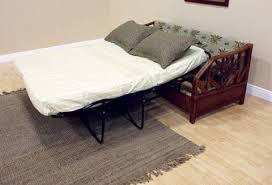 Wicker Sleeper Sofa Palm Rattan And Wicker Sleeper Sofa 401 1365 Tca Sb