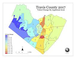 Dfw County Map This Interactive Chart Shows How Much Travis County Property