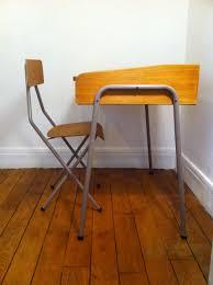 mobilier vintage enfant bureau écolier style hitier