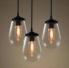 Glass Sphere Pendant Light Clear Glass Ball Pendant Lighting Globe Light Pack Lights For