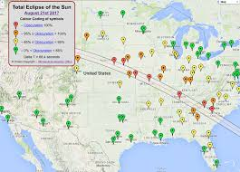 united states map with longitude and latitude cities 2017 august 21 total solar eclipse