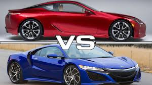 lexus lfa wallpaper iphone 2017 lexus lc 500 vs 2017 acura nsx youtube