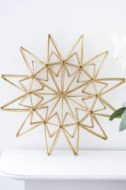 diy star made from drinking straws craft u0026 diy pinterest