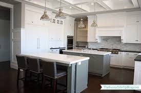 gray kitchen islands transitional kitchen benjamin moore