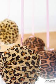cheetah print party supplies simple cheetah birthday party ideas overstuffed