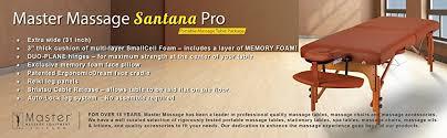 master massage equipment table amazon com master massage 31 santana lx portable massage table