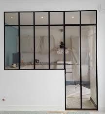 verriere interieur cuisine defi métallerie conception de vérandas et de verrières d