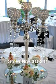 4pcs lot free shipment candelabra centerpiece crystal candle