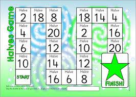 halving worksheets for year 1 worksheet printables site