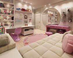 stylish pink bedroom design for