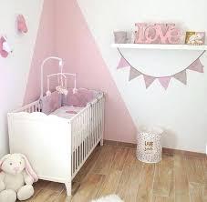 idee chambre bebe fille idee deco mur chambre bebe fille idées décoration intérieure