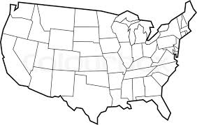 empty map of united states empty map usa my