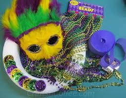 diy mardi gras bead bandana entertaining crafts n coffee
