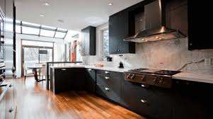 Images Of Kitchens With Black Cabinets Furniture Easy Kitchen Ideas With Black Finish Mahogany Wood