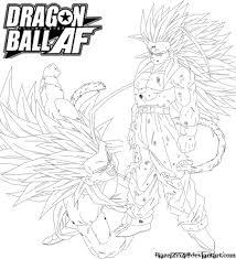 gohan ssj5 lineart jamalc157 deviantart lineart dragon