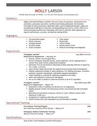 Sample Paramedic Resume by Download Firefighter Resume Examples Haadyaooverbayresort Com