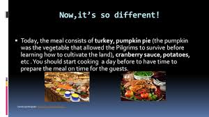 the buffet of the 1st thanksgiving and now celebration of