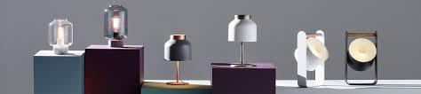 Elegant Designs Lt Blk Modern Genuine Leather Table Lamp Black - Table lamps modern design