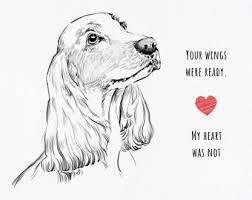 loss of pet loss of pet gift etsy