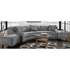 curved sectional sofa crescent shaped sectional sofa 1025theparty com