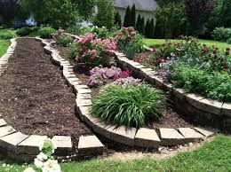 Tiered Backyard Landscaping Ideas Front Yard Landscaping Ideas Tiered Door Decorations