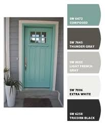 Front Door Colors For White House Wild Current By Sherwin Williams I Want A