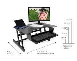 desk height for 6 2 26 best medium ergonomic desk height adjustable sit stand desk