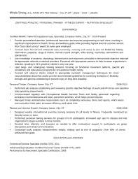 Trainer Resume Sample by Chronological Trainer Resume Template