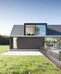 Modern Barn Modern Barn Style Home Showcases Glazings And Below Grade Ramp