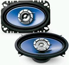 pioneer 4x6 pioneer ts g4640r 4 x 6 speaker 100 watts max 2 way speakers