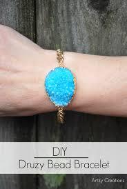 diy bracelet stones images Diy druzy stone bracelet jpg