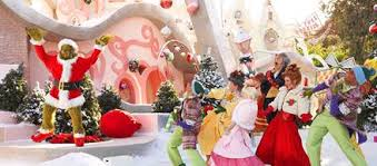 grinchmas opens thanksgiving day at universal studios