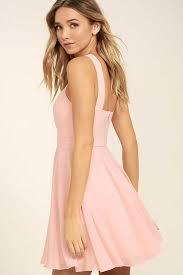 light pink halter dress cheap halter dress for women classic lovely light pink dress