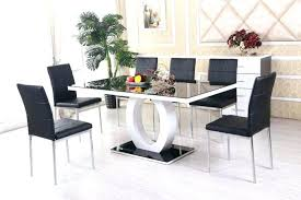 glass dining room table and chairs circle kitchen table circle kitchen table set dining glass top