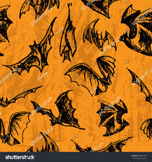 techno halloween background vector halloween seamless bats on textured stock vector 220691860