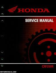 2014 2015 honda crf250r motorcycle service manual