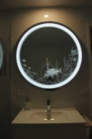 Backlit Bathroom Vanity Mirrors Bathrooms Design Backlit Bathroom Mirror White Bathroom Mirror