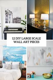 large scale wall art wall decoration ideas 12 eye catchy diy large scale wall art pieces