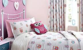 owl bedding for girls pretty owls childrens bedroom trend dunelm