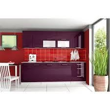 cuisine aubergine cuisine equipee violet cuisine complate tara 2m60 aubergine violet