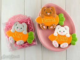 Decorated Easter Cookies and Cutters Semi Sweet Designs