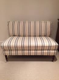 Calico Corners Sofas Calico Corners Settee Bench Small Sofa Love Seat In Westwood Los