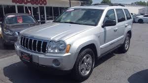 jeep laredo 2007 2007 jeep grand cherokee limited 4x4 carfax certified heated
