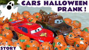 toy story halloween disney cars toys halloween prank toy story with mcqueen and mater