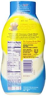 hellmans light mayo nutrition amazon com hellmann s light mayonnaise squeeze bottle 22 oz