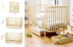Crib Converts To Bed Argington Bam Bassinet And Crib Toddler Bed Cot And Baby Furniture