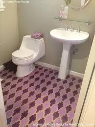 pretty u0026 easy stencil ideas for 6 dreamy diy bathroom makeover
